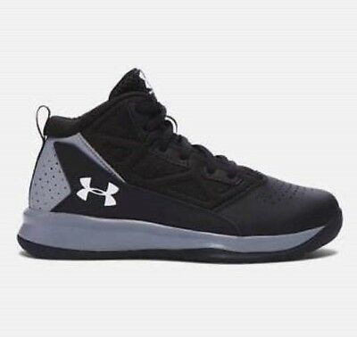 NEW Under Armour Youth Boys Shoes Select Sizes UA BPS JET 1274067-001 Basketball