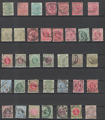 Stamps  Natal  36Pc Lot