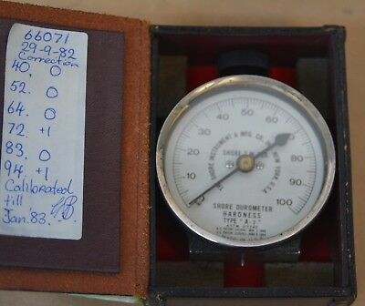 SHORE DUROMETER Type A-2 Hardness Tester - SHORE BRAND ORIGINAL