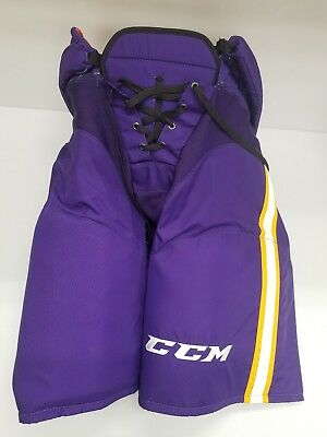 Kevin Gravel LA Kings Game Used CCM HP45 Pants Vintage Uniform Large +1 2016-17