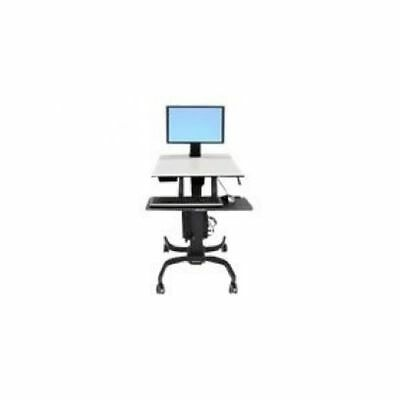 Ergotron WorkFit-C - Single LD Sit-Stand Workstation Multimedia cart 24-215-085