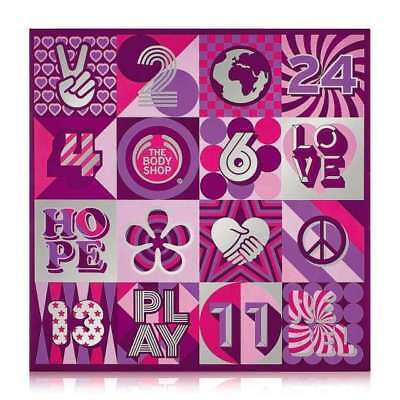 New Vegetarian The Body Shop Gifts 24 Days Of Beauty Advent Calendar
