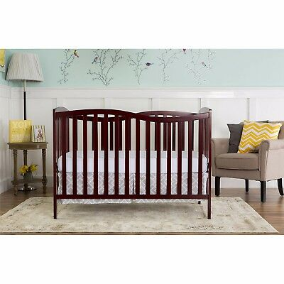 Dream On Me Chelsea 5-in-1 Convertible Crib BRAND NEW 37 Pound Free Shipping