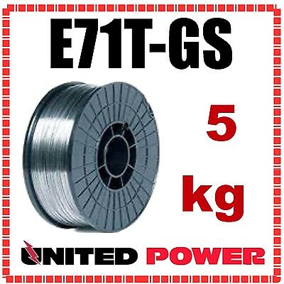 5kg 0.8mm  E71T-GS GASLESS MIG WELDING WIRE FLUX CORED MILD STEEL