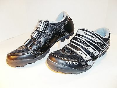 Shimano M 075 M075 Cycling Shoes SPD With Clips MTB EUR 39 US 5.8  EX. Cond.