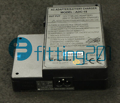 Fujikura ADC-18 AC adapter for FSM-70S/80S/70R/19S/62S fusion splicer NEW