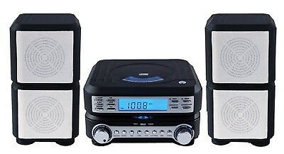 Sylvania Compact HI-FI CD Player Micro System with Stereo AM/FM Radio and Alarm