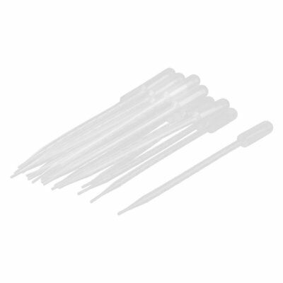 uxcell Plastic Transfer Pipettes Graduated Dropper 10ml Capacity 20 Pcs Clear