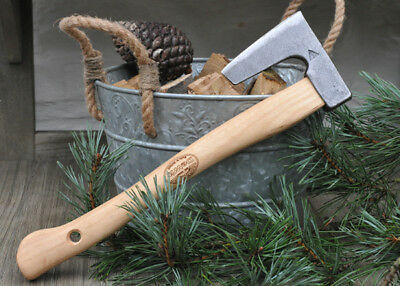 DeWit Bushcraft Perfect for Carving Hand Axe 9574 Forged Head Ash Shaft AMAZING