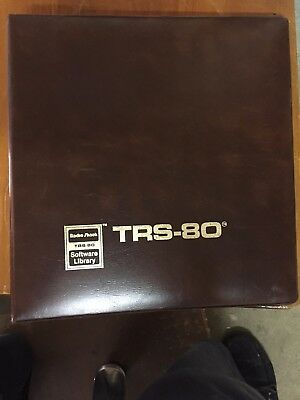 Vintage Computer Tandy TRS-80   Model I & III   Time manger software and manual