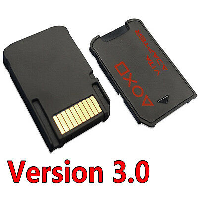 SD2VITA PSVSD Micro SD Memory Card Adapter For PS Vita Henkaku Enso 3.60 256GB