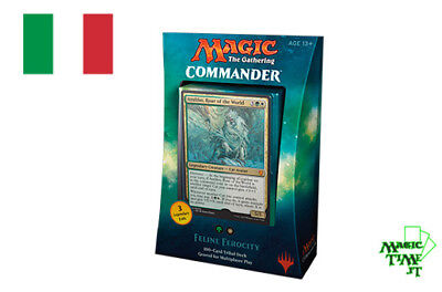 Commander 2017 EDH mtg MAGIC Ferocia Felina - Mazzo Felini Nuovo Italiano