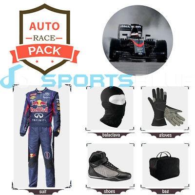 XBOX Nascar race suit (includes suit, gloves, balaclava) free bag - CIK/FIA