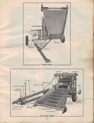 Allis Chalmers Roto Baler Instructions & Parts List 3407F