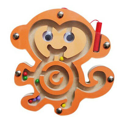 AU Children Magnetic Maze Series Educational Toys Puzzle Games Pen Labyrinth