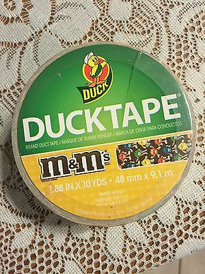 M & M's Duck Tape--Free Shipping--