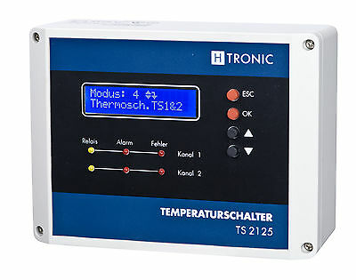 H-Tronic TS 2125 circulating pump control,Heater,A/c,Heat technology,2 Sensor