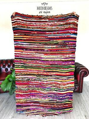Fabulous New Floor Rag Rug Hippie Carpet Wall Hanging Bohemian Throw Boho Home