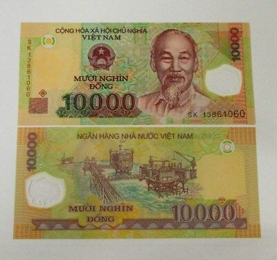 Vietnam 10000 Dong Banknote 1 Piece 2013 Series New Condition