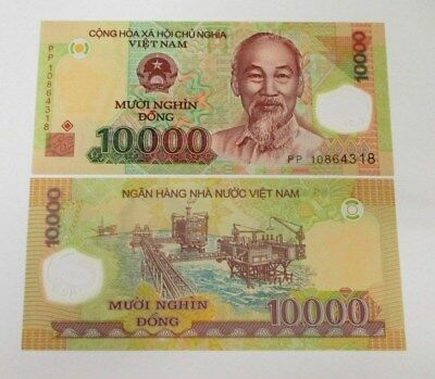 Vietnam 10000 Dong Banknote 1 Piece 2010 Series New Condition