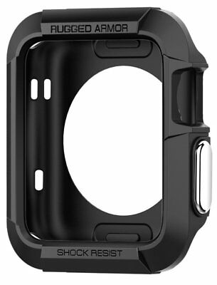 Apple Watch Case 38mm Case Impact Protection [Rugged Armor] [Black] New