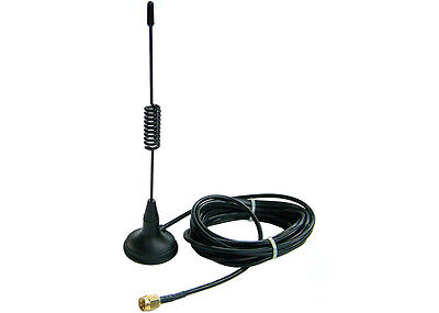 GSM Antenna with 3m Cable for GSM Gateway or GSM PCI/PCIe Interface cards