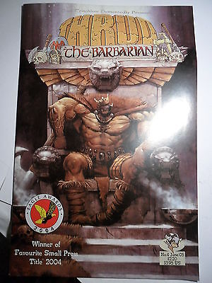 Thrud the Barbarian Carl Critchlow No 4 June 2005 White Dwarf classic strip
