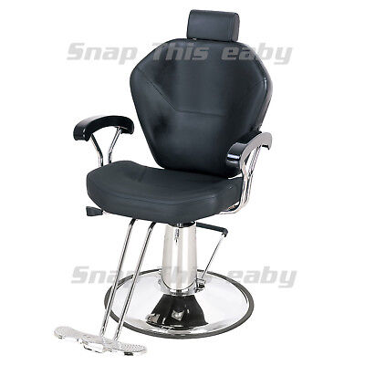 Salon Barber Chair Hairdressing Tattoo Styling Beauty Threading Shaving Barbers
