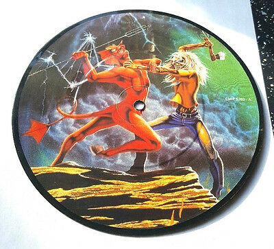 "Iron Maiden>>Run To The Hills>>7""picture Disc>>1982>>Emi"