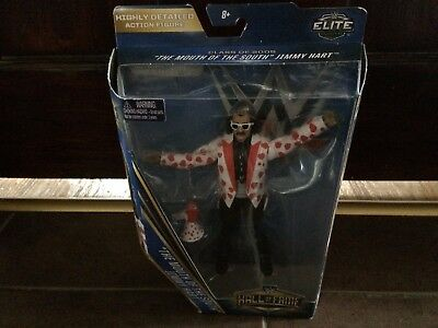 Mouth Of The South Jimmy Hart Hall Of Fame Series Elite Wwe Wrestling Figure New