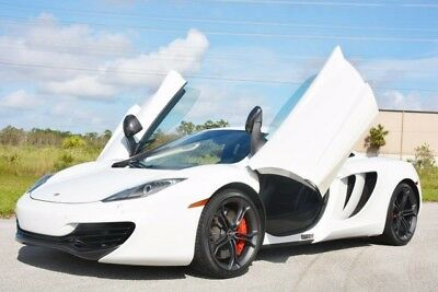 2012 McLaren MP4-12C  2012 MP4-12C - 1 OWNER FLORIDA CAR - ONLY 8,000 MILES - HIGHLY OPTIONED