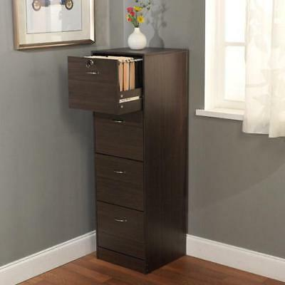 Wilson 4-Drawer Filing Cabinet Organize Personal Records Filing Cabinet