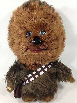 "Star Wars Chewbacca Talking Deluxe Plush Toy Underground Toys 15"" Stuffed Doll"