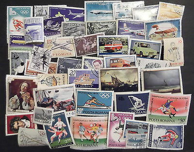 Romania Stamp Collection (2 Scans)