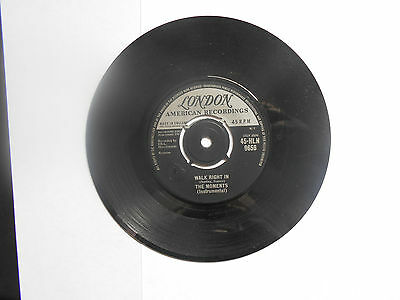 The Moments    45 Single Walk Right In      London        1962