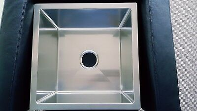 "18*18"" Small Radius Stainless Steel Kitchen / Laundry / Bar Sink - 1818AR-10"