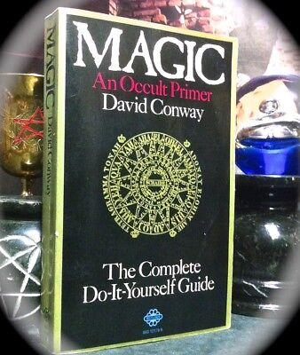 David Conway: Magic - An Occult Primer ~ 2Nd Print Sc 1976 ~ Ceremonial Magick