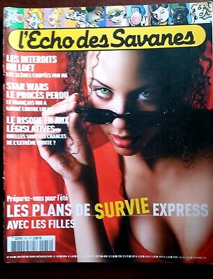 Echo des Savanes n°216; Les plans de survie express/ Star Wars le procès perdu