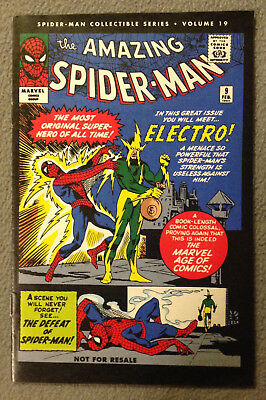 Spider-Man Collectible Series Volume #19  -Electro! Part 1 -Marvel Reprint 2006