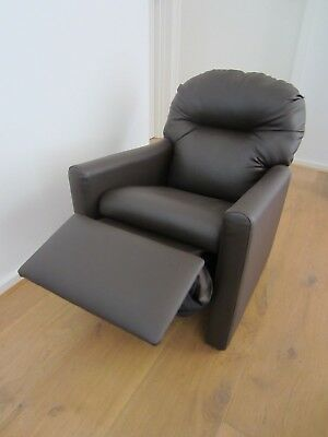 New kids recliner armchair PU leather