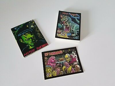 Tune In For Terror Card Set With Sticker Set Mystery Playhouse 1992