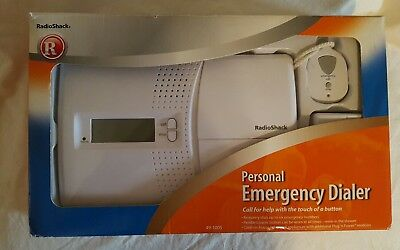 Radio Shack Emergency Phone Dialer Personal Assistant Model 49-1005, EUC