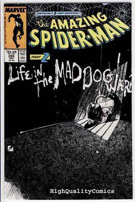 SPIDER-MAN #295, Mad Dogs, Kyle Baker, Amazing,1963, VF+