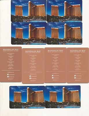 "10-- the same--""DELANO & MANDALAY BAY TOWERS""-----Las Vegas,NV-----Room keys"