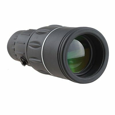 Monocular 16x52 Optics Zoom Lens Telescope Scope Outdoor Camping Hiking Hunting