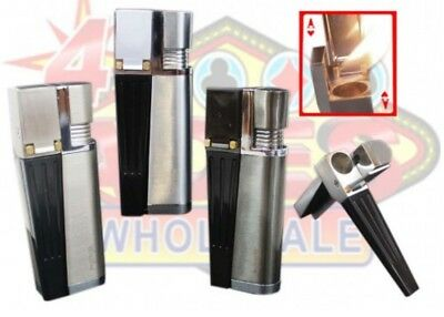 Wickie pipe Self-igniting Tobacco Pipe-Lighter in One Smoking Pipe+5 screen free