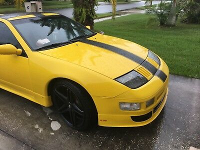 1991 Nissan 300ZX Twin turbo 1991 300zx twin turbo yellow, low pampered miles