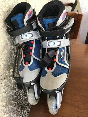 Micro Junior Rollerblades Size Adjustable Through 4 Sizes, Great Condition!
