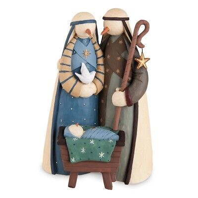 Williraye Studio Snowman Nativity Cold Noses Blessed Hearts Christmas Figure