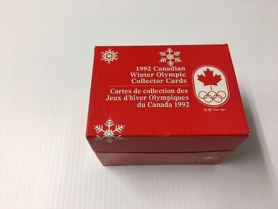1992 Canadian Winter Olympics Cards Collector Set - 200 cards.